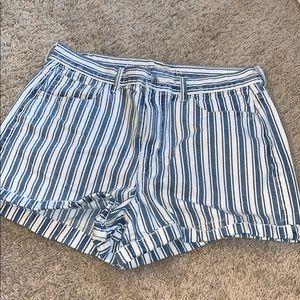 AEO mom shorts. Size 12.